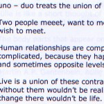 Synopsis for Uno - Duo