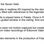 The Making of the Dance of the Seven Veils
